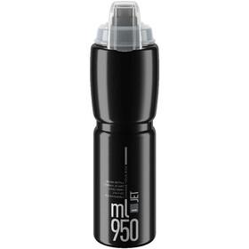 Elite Jet Plus Drinking Bottle 950ml, black/grey logo